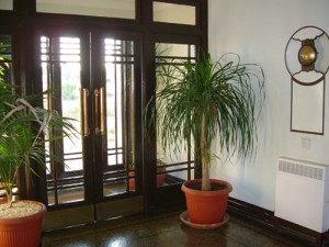 Front Entrance hall Onslow Court