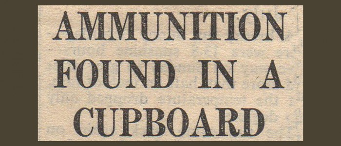 Ammunition Headline